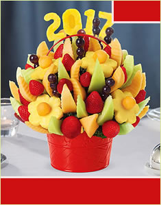 Delicious Fruit Design with Edible Number 2017