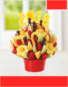 Delicious Fruit Design with Edible Number 2018